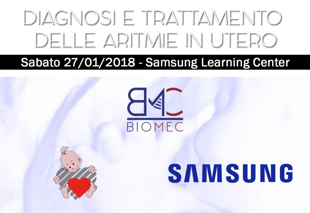 DIAGNOSI E TRATTAMENTO DELLE ARITMIE IN UTERO CORSO BIOMEC 2018